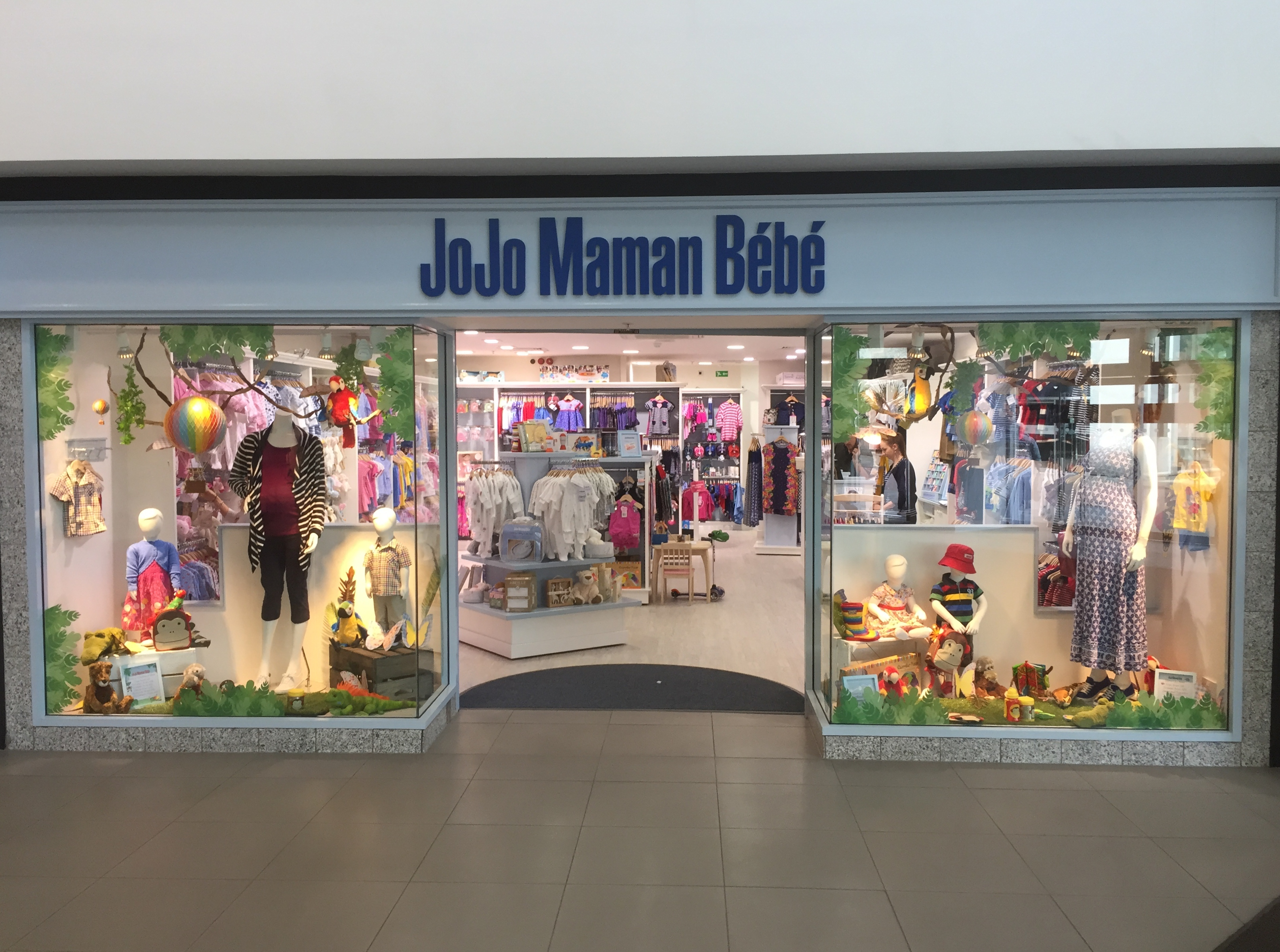 JoJo Maman Bébé, a British brand focused on maternity and baby clothing, nursery items, gifts and toys, is opening its first U.S. retail outlets in Fairfield County. 60 Greenwich Ave. Photo by.